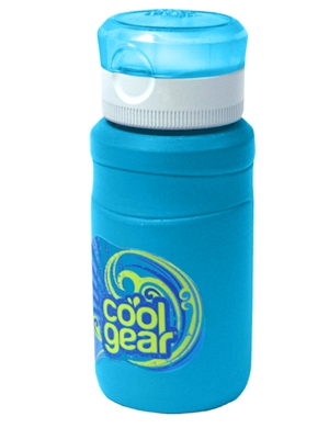Cool Gear Breaker Bottle 11.8oz Blue
